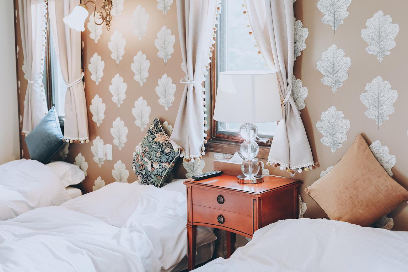 華麗精緻的睡房,對細節一絲不拘。