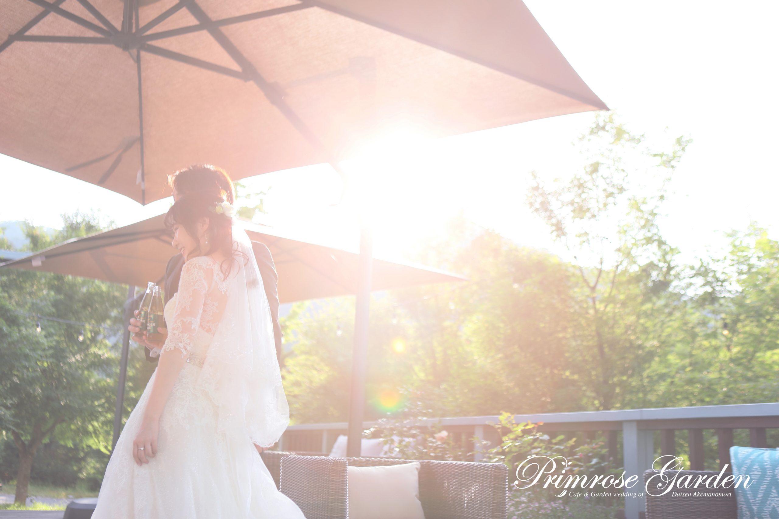 與自然融合的歐陸風格空間,適合舉行輕鬆的婚禮。