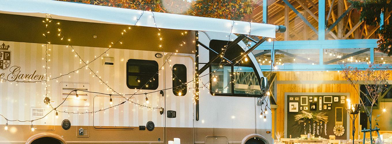 婚宴場地 Glamping Terrace 是隨意、放鬆的歐陸風格空間